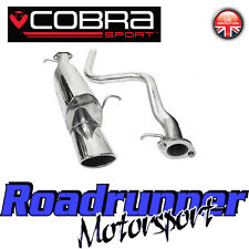 "FD34 Cobra Sport Fiesta MK6 Zetec 1.4i Exhaust System 2"" Cat Back -Non Resonated"