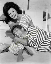 Annette Funicello with Frankie Avalon 8x10 Photo 016