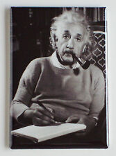 Albert Einstein FRIDGE MAGNET (2 x 3 inches) e = mc2