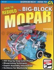 How Rebuild MoPar Engines 440 426 413 400 383 Dodge Plymouth Chrysler 1959-1978