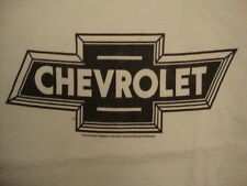 Chevrolet General Motors GM Car Brand Chevy White T Shirt L