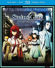*BRAND NEW Combo Pack* Steins Gate: The Complete Series [Blu-ray] [DVD]