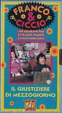 FRANCO E CICCIO - IL GIUSTIZIERE DI MEZZOGIORNO (1975) VHS