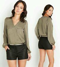 ♡♧Guess Romper Shorts  Marissas Color Block black 6 $108 ♧♡