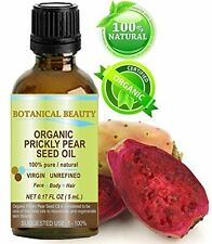 Organic Prickly Pear Cactus Seed Oil - Virgin & Unrefined by Botanical Beauty