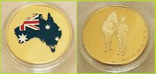 Australian Light Horse_GOLD Plated_1oz collectable; C.O.A. included