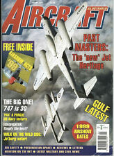 AIRCRAFT ILLUSTRATED MAR 99 NAVAL AIR WARFARE CENTER PAX RIVER_BOEING 747 HISTOR