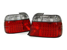 BMW E36 3DR HATCHBACK 3D COMPACT EURO LED RED/CLEAR TAIL LIGHTS REAR LAMPS 318ti