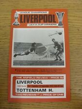 22/09/1973 Liverpool v Tottenham Hotspur  . Thanks for viewing this item, we try