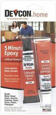 Devcon High Strength 5 Minute Epoxy All Purpose Clear 1 oz