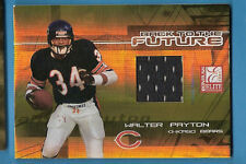 WALTER PAYTON 2005 ELITE GAME USED JERSEY #d36/100 CHICAGO BEARS THOMAS JONES