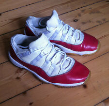 Air Jordan 11 (XI) Retro Low [ white / varsity red ]