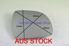 RIGHT DRIVER SIDE AUDI Q3 2012 onward MIRROR GLASS WITH HEATED BACK PLATE