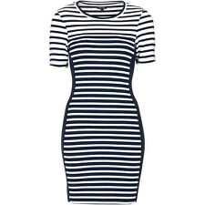 Topshop Stripe Body Con Dress Size 8 us NWT $58