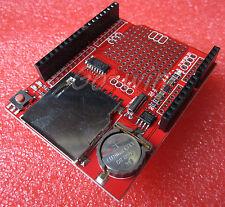 1pcs New Data Module Logging Shield Data Recorder Shield for Arduino UNO SD Card