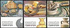 ISRAEL 2016 - JEWISH NEW YEAR FESTIVALS - YOM KIPPUR - 3 STAMPS WITH TABS - MNH