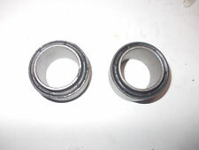 2 SILENT BLOCK BRACCI POSTERIORI RENAULT 5 ALPINE TURBO REAR SUSPENSION BUSHERS