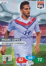 OL-UP01 MIGUEL LOPES # PORTUGAL LYONNAIS CARD ADRENALYN FOOT 2014 PANINI