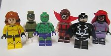 LEGO Custom Marvel Inhumans Royal family 6 mini figures Gorgon Medusa Triton Lot