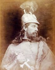 King Arthur by Julia Margaret Cameron 1874 7x4 Inch Reprint Photo