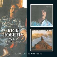 RICK ROBERTS - WINDMILLS/SHE IS A SONG  CD NEU