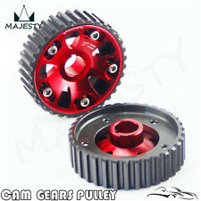 Racing Cam Gear Pulley For Civic DOHC B16A B16B B18B B18C Integra DC2 Acura Red