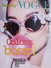LUMA GROTHE  Beauty in VOGUE Italia #11 2013 DITA VON TEESE DIDONATO OKAMOTO