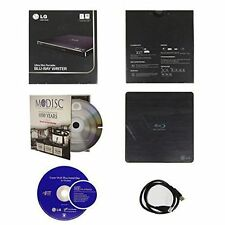 LG BP50NB40 Ultra Slim External Portable 6X Blu-ray BD RE M-Disc CD DVD RW Drive