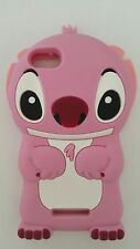 FR-PHONECASEONLINE SILICONE CASE STITCH PINK PARA WIKO LENNY 2