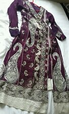 EID*LADIES BOLLYWOOD ANARKALI  SALWAR/KAMEEZ CHURIDAR SIZE  32-34-36