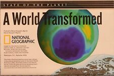 2002 National Geographic Poster A World Transformed