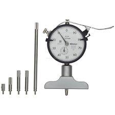 Mitutoyo 7211 Dial Depth Gauge 0-200*0.01mm Brand New