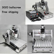 Ballscrew 3020 CNC Router engraving drilling and milling machine cnc engraver