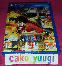 ONE PIECE PIRATE WARRIORS 3 PS VITA NEUF SOUS BLISTER VERSION FRANCAISE