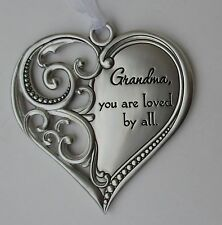 m Grandma you are loved by all ALWAYS IN MY HEART Ornament Mother's day