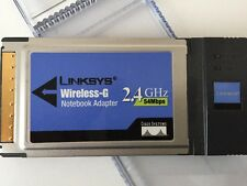 Linksys WPC54G WiFi Wireless G 2.4GHz PCMCIA Adapter/Dongle Stocking Filler