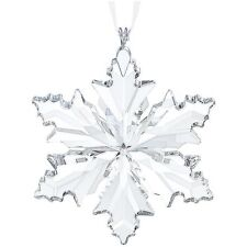 2014 SWAROVSKI SMALL SNOWFLAKE CHRISTMAS ORNAMENT #5059028 BNIB LITTLE STAR F/SH