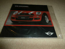 Mini Hatchback Accessories 2003-04 UK Brochure One One D Cooper Cooper S. MINT