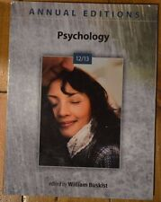 Annual Editions: Psychology 12/13 by William Buskist (2012, Paperback)