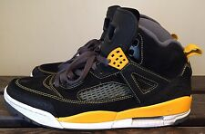 2012 Nike Air Jordan Spizike Size 11 Black w/ University Gold Yellow 315371 030