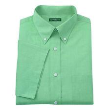 New Croft & Barrow Men's Short Sleeves Button-Down Collar Dress Shirt MSRP $36