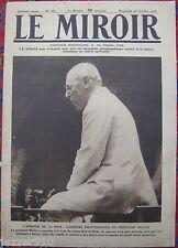 LE MIROIR  n°256 ¤ 20/10/1918 ¤ LE PRESIDENT WILSON ARBITRE DE LA PAIX