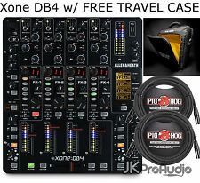 ALLEN AND HEATH XONE:DB4 DB4 DJ MIXER W EFX & MIDI & FREE TRAVEL CASE