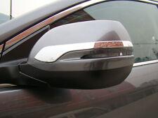 Side Mirror Cover Trim for 2012-2016 Honda CR-V CRV ABS Chrome Rearview Strip