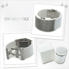 Stunning Swarovski Crystal D:Light White Digital Light LED Watch NIB