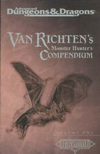 AD&D Van Richten's Monster Hunter's Compendium Volume One 1 TSR 11477 Ravenloft