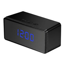HD 1080P Spy Alarm Clock IR Night security Hidden Camera DVR Motion Detection DV