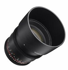 Rokinon Cine DS 85mm T1.5 AS IF UMC Full Frame Cine Lens for Nikon