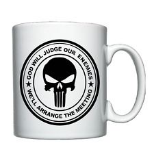 God will judge our enemies - Personalised Mug / Cup
