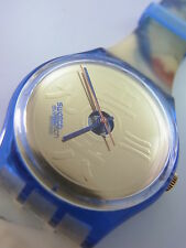 GN138 Swatch 1994 The Lake Japanese Swiss Made Authentic New